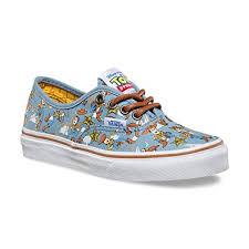 vans shoes for boys. vans boys authentic shoes woody blue disney pixar toy story kids/youth (1) vans for r