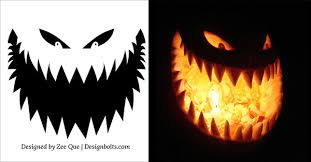 Pumpkin Carving Pattern New 48 Free Printable Scary Halloween Pumpkin Carving Patterns