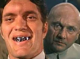 Image result for pictures of super villains in Bond movies