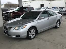 Used 2007 Toyota Camry Hybrid 4 Door Car in Kelowna, BC 8T80326A