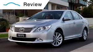 Toyota Aurion video review - YouTube