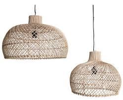 oneworld interiors rattan pendant lamp naturel 56cm petite regarding light designs 10 rattan pendant light t28 light