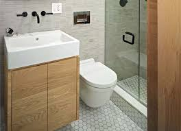 Minimalist Toilet Studio Apartment Design Photo Minimalist