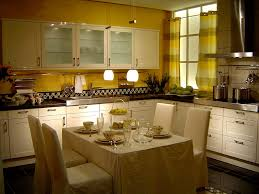 Small Kitchen And Dining Apartment Small L Shaped White Kicthen Apartment Idea Kitchen