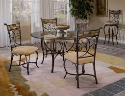 inspirations round glass dining room sets with small kitchen table with chairs classic glass top dinette