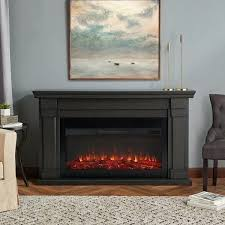 greystone electric fireplace insert real flame grey free by n a greystone electric fireplace