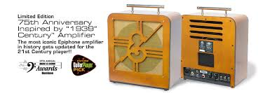 75th anniversary century lifier the most iconic epiphone lifier in history gets updated for the