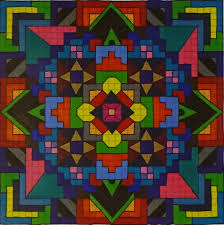 patterns to draw on graph paper mandala on graph paper youtube