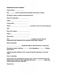 Free Business Agreement Template Free Business Agreement Template Complete Guide Example 1