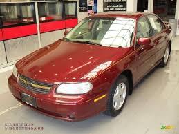 2001 Chevrolet Malibu LS Sedan in Monterey Maroon Metallic ...