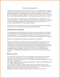 written cv examples write a good cv sample protobike cz how to write a good cv by aqeelplanner