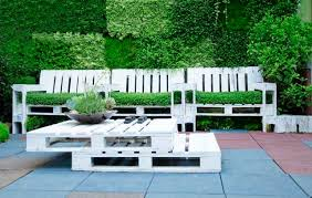 pallet outside furniture. Living Benches With Stylish Pallet Table Outside Furniture