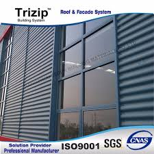 audi 4s specially used corrugated steel panel exterior wall