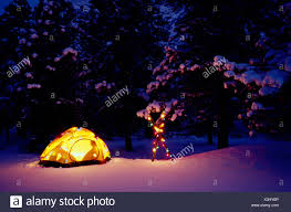 Camping Christmas Lights Outdoor Camping Stock Photos Outdoor Camping Stock Images