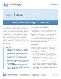 fast facts teen pregnancy and childbearing among latina teens fast facts teen pregnancy and childbearing among latina teens the national campaign