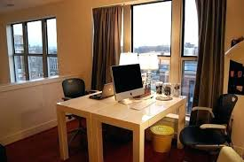 home office furniture for two. Two Person Desks Home Office Desk Double Pretty Parsons In . 2 For Furniture R