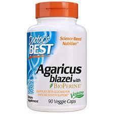 Doctor's Best Agaricus Blazei, Non-GMO, Vegan ... - Amazon.com