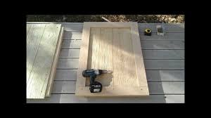 How To how to build door pics : 6-How to Build a Shed Door - How to Build a Generator Enclosure ...