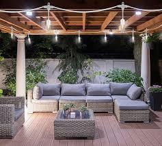 indoor outdoor string lights white