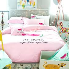 monogrammed bedding sets personalized pastel black green red and pale pink monogrammed watermelon print girly girls