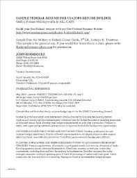 Military Civilian Resume Builder Veteran Resume Template Military Civilian Lovely For Vets