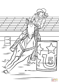 horses jumping coloring pages. Beautiful Horses Realistic Horse Jumping Coloring Pages With Barrel Racing Page Free  Printable And Horses L