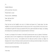 8 Sample Romantic Love Letters Templates For Wife Letter