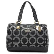 Bag · Cheap And Fashion Coach Legacy Logo In Monogram Large Black ...