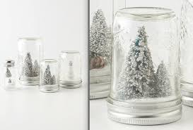 Decorated Jam Jars For Christmas Decorations Incredible Glittering Christmas Tree Jam Jar Snow 32