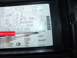 sparky's answers 2004 chevrolet trailblazer, no low beam headlights 2007 Chevy Trailblazer Fuse Box looking at the legend for part number 46, we find that it is located nearly in the center of the fuse box but slightly towards the fender 2007 chevy trailblazer fuse box diagram