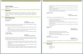 Graphic Designer Resume Pdf Free Sample Graphic Design Resume