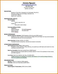 First Resume For Student Sarahepps Com