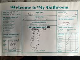 Bathroom Guest Book Shits And Giggles Just For Shits And Giggles