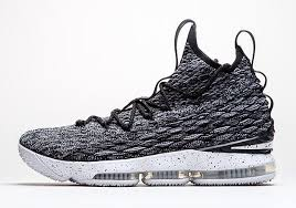 lebron first shoe. above: nike lebron 15 \u2013 the is set to release on october 28th for $185. lebron first shoe
