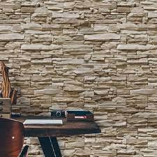 O uso da pedra para revestimento de paredes é muito utilizado para ambientes com um estilo rústico, mas tem dominado também casas nas grandes cidades. Papel De Parede Pedras Canjiquinha 19 Qcola