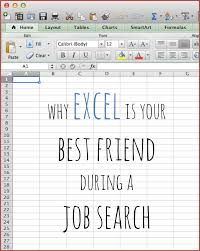 Why Excel Spreadsheets Are Your Best Friend During A Job Hunt The