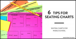 Create Seating Chart Template Seating Charts For Middle School Maneuvering The Middle
