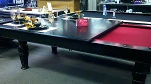 Pool table dining top Insert Pool Table Dining Top Insert Image Of Black Combo Room Photo Tables Pool Tables Plus Pool Table Dining Top Autocom