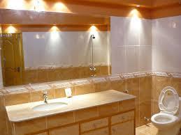 contemporary bathroom lighting fixtures. Contemporary Bathroom Light Fixtures Lighting Ideas Concept Home Interior Design Large Mirror Table Ceramic