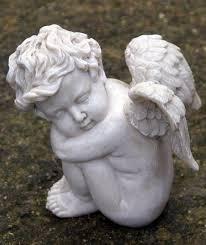 sleeping cherub cherub cherub art