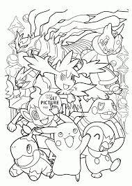 Pokemon Venusaur Coloring Pages Mega Sevimlimutfak Hoofardus