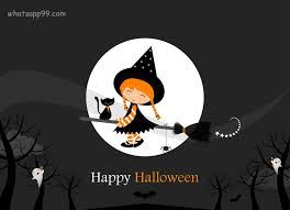 wallpaper happy halloween cartoon wish 2017
