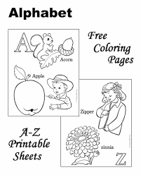 Small Picture ABC coloring pages sheets and pictures