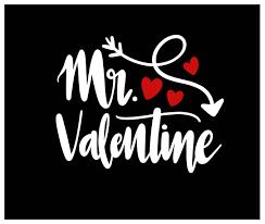 Iron Heat Transfer Designs Custom Mr Valentine Valentines Day Iron On Vinyl Heat T