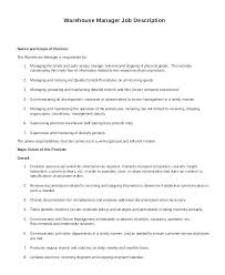 Sample Warehouse Supervisor Resume Warehouse Supervisor Resume ...
