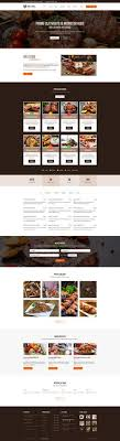 Restaurant Website Templates New Zooks Zoo Cinema Museum Comedy Club Circus Aquarium PSD