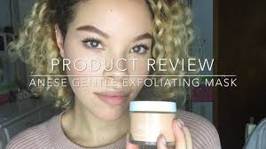 review anese exfoliating mask promo code bright clear skin