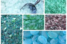 tumbled glass for landscaping bedrock industries a treasure trove of recycled glass inspiration for the garden tumbled glass for landscaping