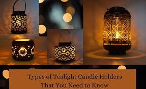 Iron Tea Light Holders Amber Lillies Tealight Candleholder New Candle Holder Home