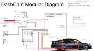 dashcam overview wiring diagram • cctv forum dashcam overview wiring diagram